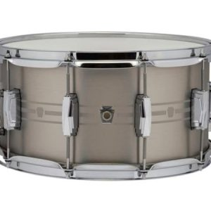 "Ludwig Heirloom Stainless Steel Snare Drum 7"" x 14"""